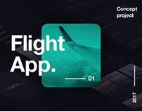 Flight App Concept + UI Kit