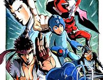 Capcom Pinup