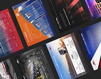 "Informative ""Brochure Postcards"""
