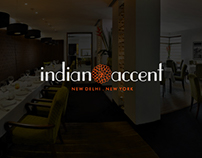 UX & UI Design - Indian Accent