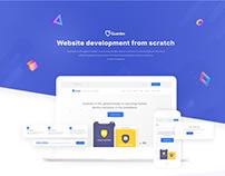 Guardev - Website development ( UI/ UX design )
