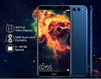 Honor 7x Smartphone Poster Sample