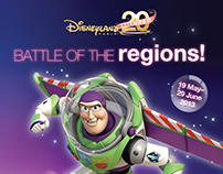 Disneyland Paris Battle of the Regions