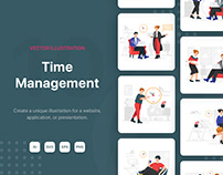 Time Management Illustrations