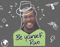 Wings For Life World Run - Be Yourself Run.
