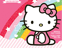 Hello Kitty 40 Year Anniversary Fruit Snacks