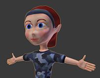 blender character