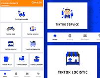 Service App Home Screen