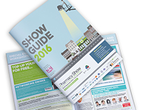 A4 Exhibition Show Guide Brochure
