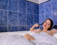 Blue Bathtub