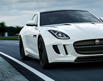 Jaguar F-Type S - CGI and Retouch