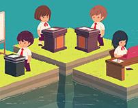 『進研ゼミ高1、高2講座 My Vision9月号「大学入試と英語の資格・検定試験」、「多様化する大学入試」』