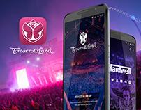 Tomorrowland - Festival App Concept