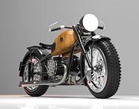 Ural M-72 Motorcycle