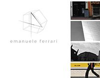 E.F. : Logo Redesign, Website Redesign