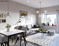 FILAND scandinavian apartment