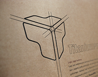 Corporate Visual Identity For A New Brand TitaniumPRO