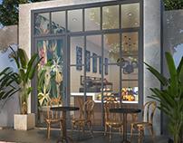 Bakery & Coffee Take Away Shop