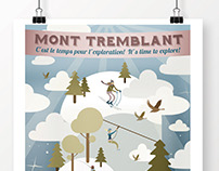 Tremblant Promotional Poster