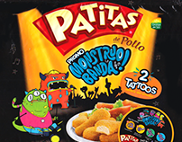 Patitas Monstruo Banda, TV Comercial