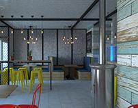 Cafe in Novyi Buh