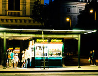 Night Street Photography Eastern Europe