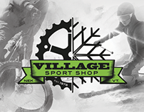 Mountain Bike Logo and Branding - Village Sports