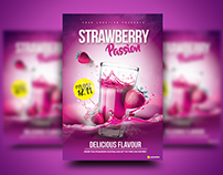Strawberry Passion Flyer