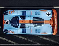 Classical Le Mans Porsche concept