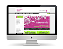 Web Comercio Electrónico Farmacia Central + Heras