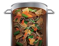 Beef Stew - Vector