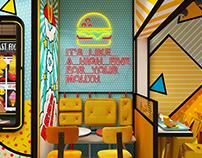 Yellow Burger & Fries - Oman