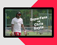 Vodafone - SuperFans vs Chris Gayle - IPL 2017