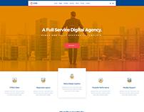Eirs - Design Studio Marketing Agency PSD Template