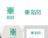 Budi Medica Clinic Logo Design