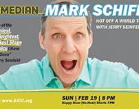 Comedian Mark Schiff