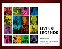 Living Legends – Jewish Calendar