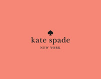 A short ad film composed for Kate Spade.
