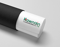 kawnain tv logo design