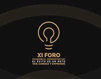 XI FORO