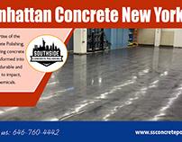 Manhattan concrete new york NY