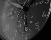 Archimede Pilot Chronograph PVD . LS Watch
