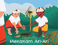 Children Illustration For Learning Media