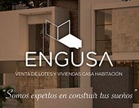 Sitio web para inmobiliaria ENGUSA
