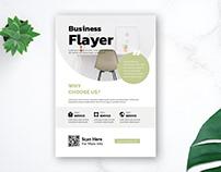 Free Flyer Design Mockup By Suhama99