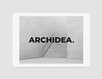 Archidea Identity and Website