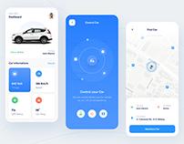 Car Controlling App Design