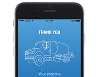 Propane Company Consumer App
