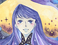 Witches Watercolors 2013-2015