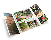 Landscape design brochure
